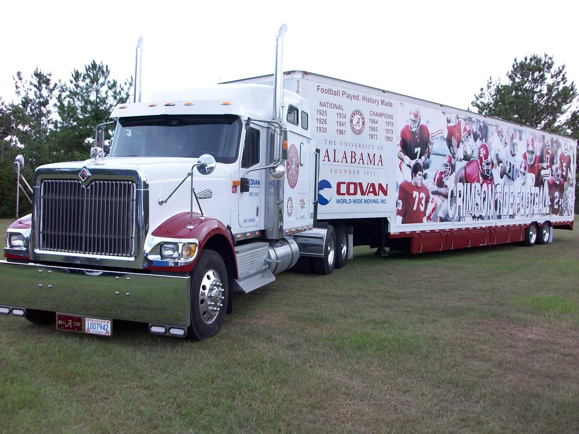 College Football Tailgate Net Trucks University of Alabama Crimson Tide